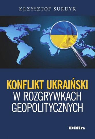Konflikt ukraiński w rozgrywkach - okładka książki