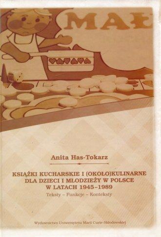 Książki kucharskie i około kulinarne - okładka książki