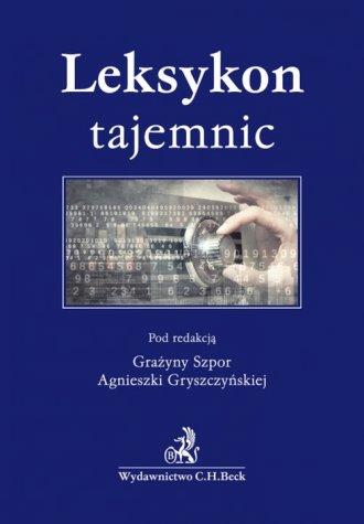 Leksykon tajemnic - okładka książki