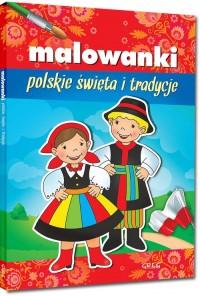 Malowanki polskie święta i tradycje - okładka książki
