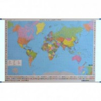 Mapa ścienna Świat polityczna 1:35 - okładka książki
