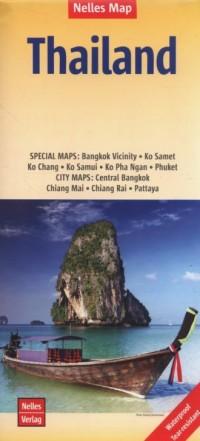 Mapa Thailand Tajlandia 1:1 500 000 - okładka książki