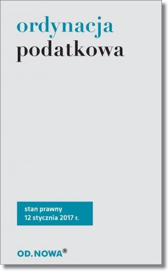 Ordynacja podatkowa - okładka książki