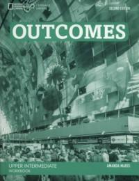 Outcomes Upper Intermediate Workbook (+ CD) - okładka książki