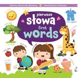Pierwsze słowa. Kolorowy słowniczek - okładka książki
