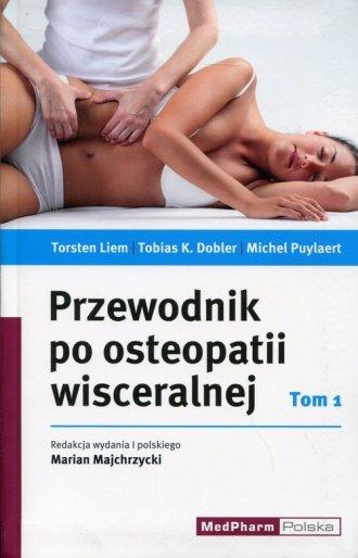 Przewodnik po osteopatii wisceralnej. - okładka książki