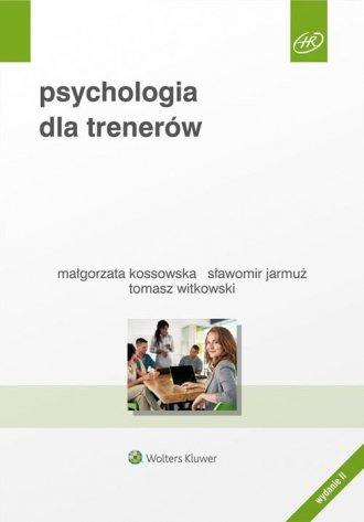 Psychologia dla trenerów - okładka książki