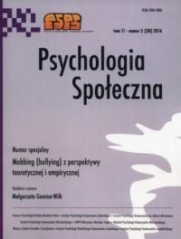 Psychologia społeczna 32016 - Wydawnictwo - okładka książki