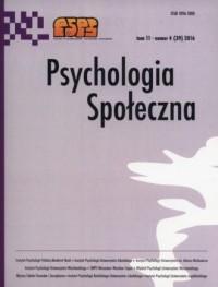 Psychologia społeczna 42016 - Wydawnictwo - okładka książki