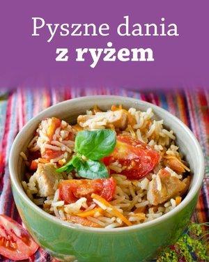 Pyszne dania z ryżem - okładka książki