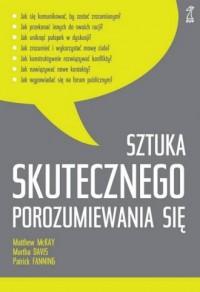 Sztuka skutecznego porozumiewania - okładka książki
