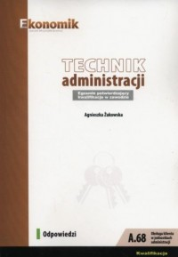 Technik administracji. Egzamin - okładka podręcznika