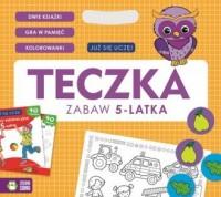 Teczka zabaw 5-latka Już się uczę - okładka podręcznika