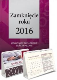 Zamknięcie roku 2016 + Kalendarz - okładka książki
