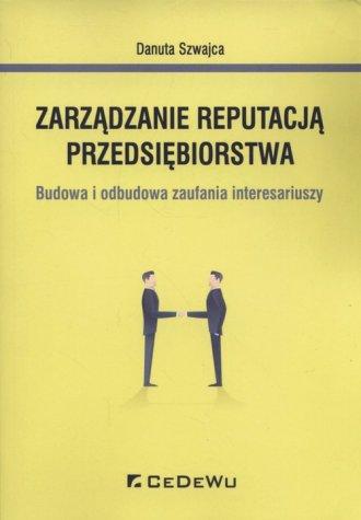 Zarządzanie reputacją przedsiębiorstwa. - okładka książki