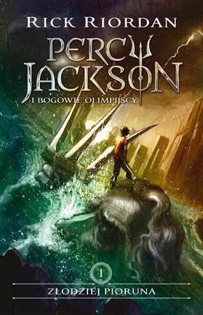 Złodziej pioruna Percy Jackson - okładka książki