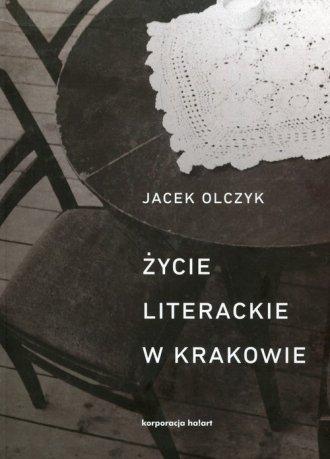 Życie literackie w Krakowie. w - okładka książki