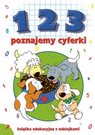 1 2 3 - poznajemy cyferki - okładka książki