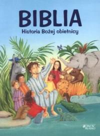 Biblia. Historia bożej obietnicy - okładka książki