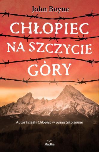 Chłopiec na szczycie góry - okładka książki
