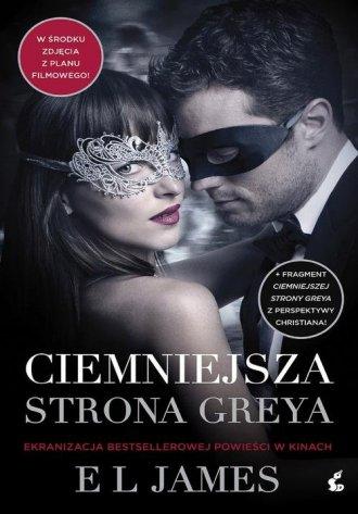 Ciemniejsza strona Greya - okładka książki