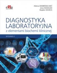 Diagnostyka laboratoryjna z elementami biochemii klinicznej - okładka książki