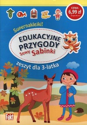 Edukacyjne przygody Sowy Sabinki. - okładka książki