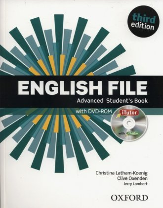 English File Advanced Students - okładka podręcznika