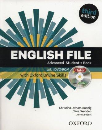 English File Advanced Students - okładka podręcznika