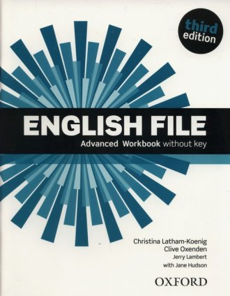 English File Advanced Workbook - okładka podręcznika