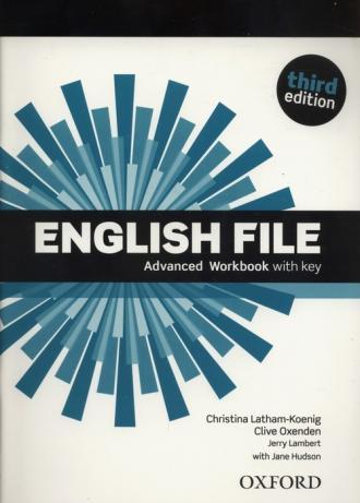 English File  Advanced Workbook - okładka podręcznika