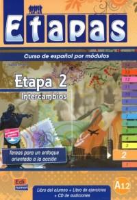 Etapas 2. Podręcznik   ćwiczenia - okładka podręcznika