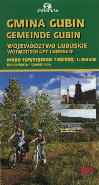 Gmina Gubin Mapa turystyczna 1:60 - okładka książki