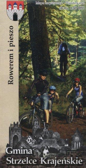 Gmina Strzelce Krajeńskie rowerem - okładka książki