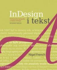 InDesign i tekst .Profesjonalna typografia w Adobe InDesign - okładka książki