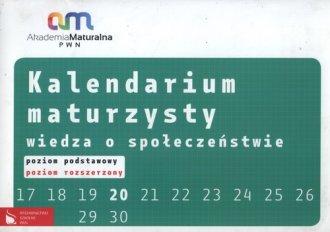 Kalendarium maturzysty. Wiedza - okładka podręcznika