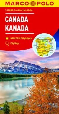 Kanada 1:4 000 000 - okładka książki