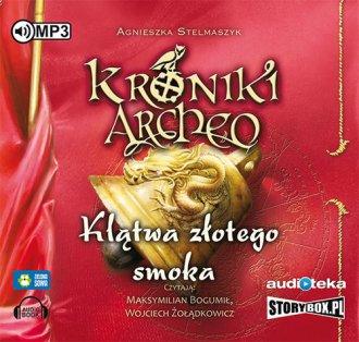 Klątwa złotego smoka cz. 4 - Kroniki - pudełko audiobooku