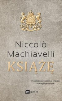 Książę - Niccolo Machiavelli - okładka książki
