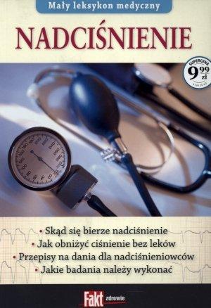 Mały leksykon medyczny. Nadciśnienie. - okładka książki