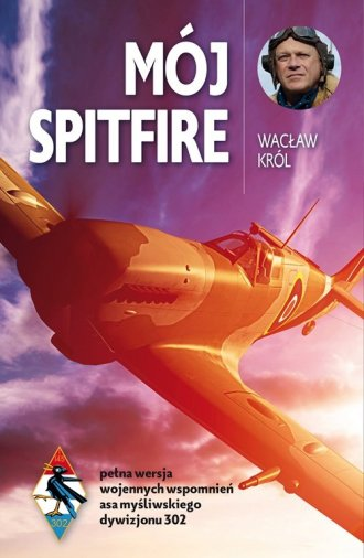 Mój Spitfire - okładka książki