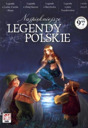 Najpiękniejsze legendy polskie. - okładka książki