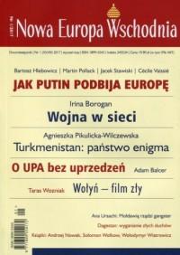 Nowa Europa Wschodnia 1/2017 - okładka książki