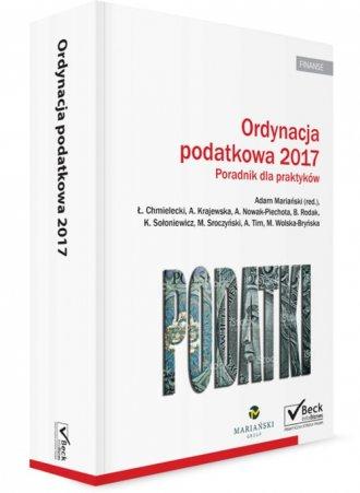 Ordynacja podatkowa 2017 - okładka książki