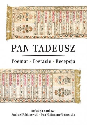 Pan Tadeusz. Poemat - Postacie - okładka książki