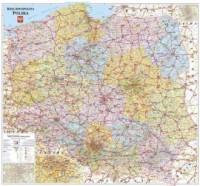 Polska mapa kodowa ścienna - Wydawnictwo - okładka książki