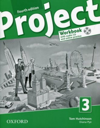 Project 3 Workbook + CD and Online - okładka podręcznika