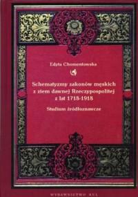 Schematyzmy zakonów męskich z ziem - okładka książki
