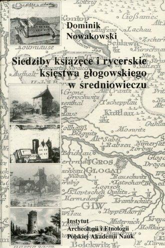 Siedziby książęce i rycerskie księstwa - okładka książki