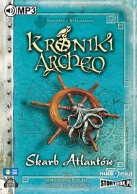 Skarb Atlantów cz. 2. Kroniki Archeo - pudełko audiobooku
